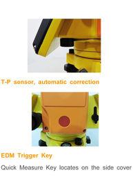 """GTS 340 1""""/2""""/5"""" estação 600m/1000m total prismless de série para a avaliação e a construção"""